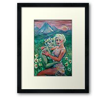 Courtship of Persephone Framed Print