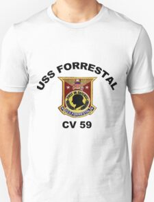 USS Forrestal (CV-59 AVT-59, CVA-59) T-Shirt