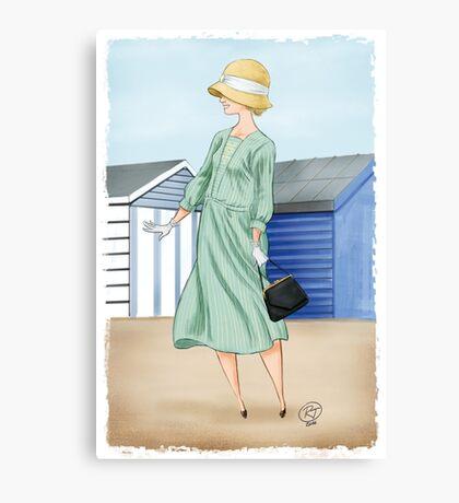 Anna at the beach Canvas Print