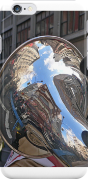 NYC reflection by andytechie