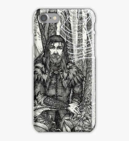 The Silent Warrior iPhone Case/Skin