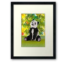 Panda Bear Cub Framed Print