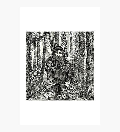 The Silent Warrior Photographic Print