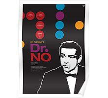 Dr. No - James Bond Movie Poster Poster