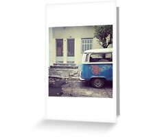 VW T2 Greeting Card