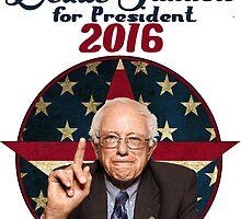 Bernie Sanders for President by Ofzen