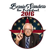 Bernie Sanders for President Photographic Print