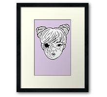 Doll: Ka'eo Framed Print