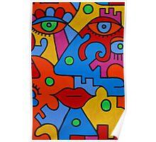 Picasso-esque Poster