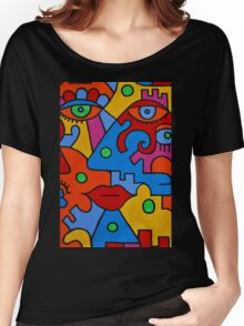 Picasso-esque Women's Relaxed Fit T-Shirt