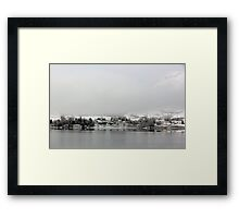Scottish Highland Village Framed Print