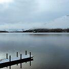 Pier on the Loch by Lynn Bolt