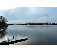 Pier on the Loch Photographic Print