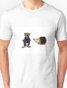 Johnhog and Otterlock T-Shirt