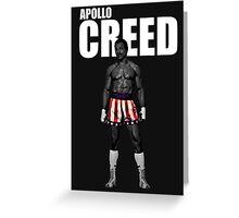 APOLLO CREED Greeting Card