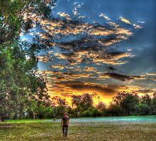 sunset walk around by BigAndRed