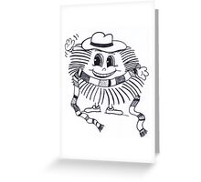 Hedgewho Greeting Card