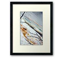 Colours of Yellowstone Framed Print