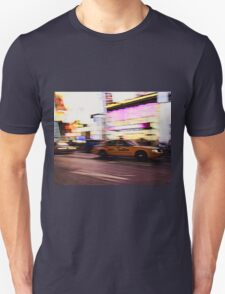 New York City, Taxi at Times Square T-Shirt