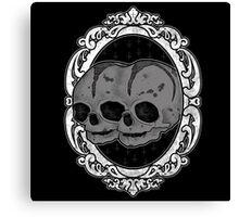 Twin Skull Canvas Print