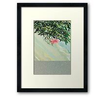 Happy solitude Framed Print