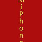 MiPhone iPhone Case by eggnog
