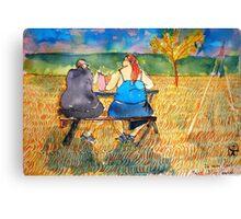 Fast Fooders Tenderness Canvas Print