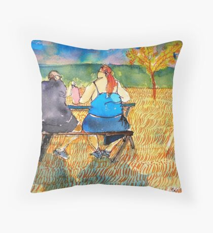 Fast Fooders Tenderness Throw Pillow