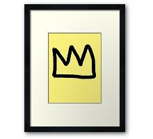 crown. Framed Print