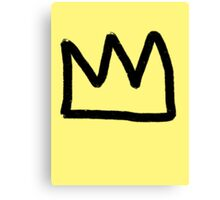 crown. Canvas Print