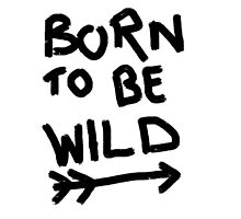 Born to be wild. Photographic Print