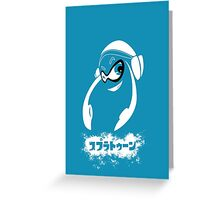 Splatoon Inkling Greeting Card