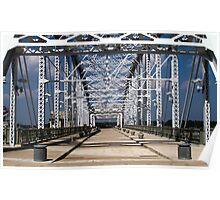 Shelby Pedestrian Bridge, Nashville Poster