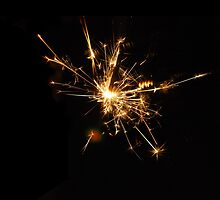Sparkler by Claire Elford