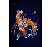 Planet dunk Photographic Print