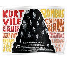 Kurt Vile / WWDIS Festival Poster Poster
