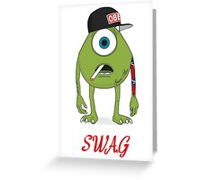 SWAG Mike Greeting Card
