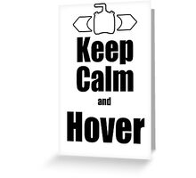 RC-Keep Calm Hover Greeting Card