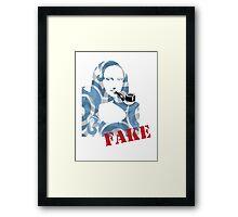 Mona Lisa - Fake Framed Print