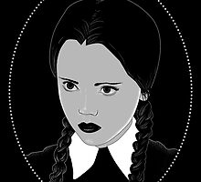 Wednesday Addams by natashasines