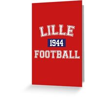 Lille Football Athletic College Style 1 Color Greeting Card