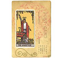 The Magician Tarot Card Fortune Teller Photographic Print