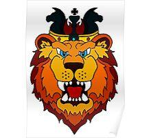 The Fallen King Lion Poster