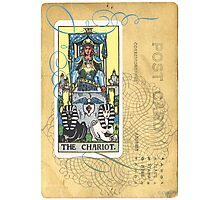 The Chariot Tarot Post Card Photographic Print