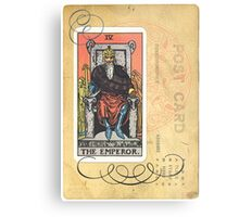 The Emperor Tarot Card Fortune Teller Metal Print