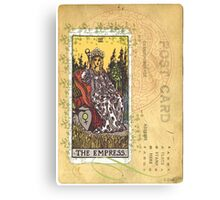 The Empress Tarot Card Fortune Teller Canvas Print