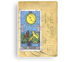 The Blue Moon Tarot Card Fortune Teller Canvas Print