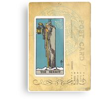 The Hermit Tarot Card Fortune Teller Metal Print