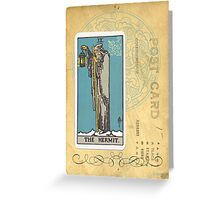 The Hermit Tarot Card Fortune Teller Greeting Card