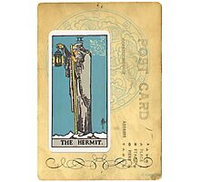 The Hermit Tarot Card Fortune Teller Photographic Print